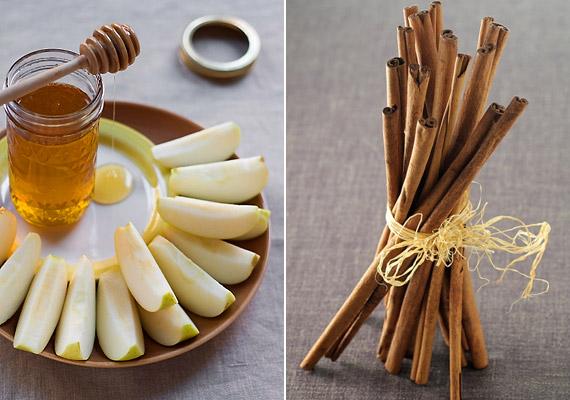 Az alma-méz kombináció megunhatatlan ízvilág, melyet bátran megbolondíthatsz egy kevés fahéjjal. Utóbbit azért is érdemes beiktatnod az étrendedbe, mert segít szabályozni a vércukorszintet.