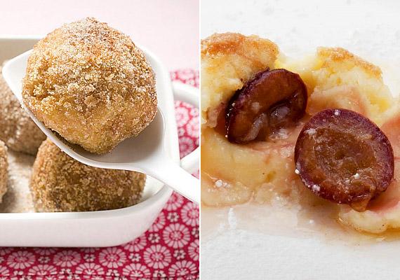 A szilvás gombócot nem csak krumpliból, hanem túróból is el lehet készíteni. Az ínycsiklandó diétás finomság receptjéért kattints ide!