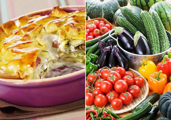A rakott zöldség ideális nyári ebéd, magas rosttartalommal, alacsony kalóriatartalommal és glikémiás indexszel. Hogy milyen zöldségeket raksz bele, annak csak a képzeleted szab határt, de ha korábbi cikkünkre kattintasz, adunk egy jó receptet.
