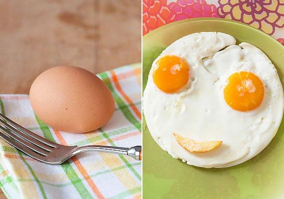 A tojás - főtten, lágyan, rántotta vagy tükörtojás formájában is - remek választás lehet, hiszen kellő energiát ad a reggelihez. Egy átlagos tojás nagyjából 50 g súlyú, és 7 g fehérjét tartalmaz.
