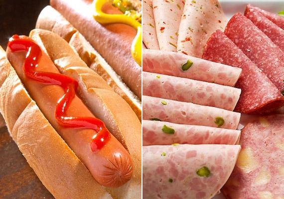 Az olyan feldolgozott húsok, mint például a virsli vagy a gyenge minőségű felvágottak, tartósítószerekben, ízfokozóként használt nátrium-glutamátban - E621 - és egészségtelen zsírokban is gazdagok. Tudj meg többet a nátrium-glutamátról!