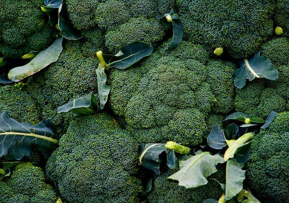 100 gramm párolt brokkoli egy felnőtt ember napi kalciumszükségletének a felét tartalmazza.