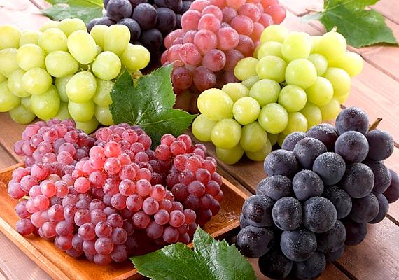 Tény, hogy a szőlőnek nagyon magas a cukortartalma, de bőven van benne jód is.