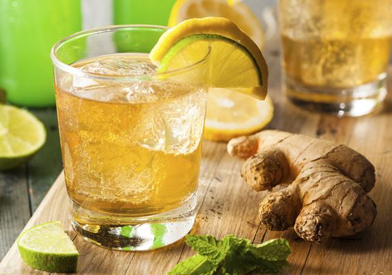 Salakanyag-kisöprő méregtelenítő vízA gyömbér szuper zsírégető és méregtelenítő hatása találkozik a citrom remek tulajdonságaival ebben az italban. Recept: reszelj le sajtreszelőn nagyjából féltenyérnyi tisztított gyömbért, majd keverd össze egy citrom frissen kifacsart levével. 1 liter hideg vízzel vagy fele-fele arányban vízzel és teával öntsd fel.