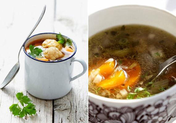 Egy könnyű zöldségleves télen-nyáron kiváló választás a fogyni vágyók számára. A rostban gazdag zöldségeknek köszönhetően megszűnik az éhség, de nem nehezülsz el, az anyagcseréd pedig beindul. Kattints ide a receptért!