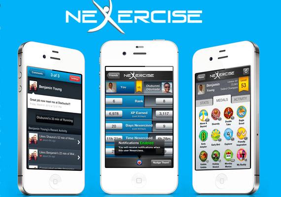 A Nexercise nevű alkalmazásnál minden sportolással töltött két percért tíz pont jár. Ha pedig elég pontot gyűjtöttél össze, különböző dolgokat nyerhetsz - például fitneszitalt. Szintén iOS és Android esetén ingyenes alkalmazásról van szó.