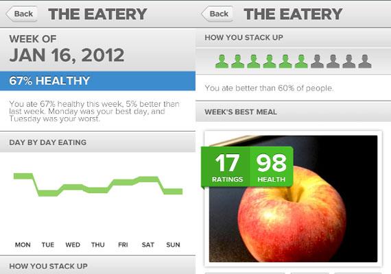 A The Eatery nevű alkalmazásnak köszönhetően nem kell kiszámolnod az általad elfogyasztott táplálékok kalóriaértékét - hiszen ezt megteszi helyetted -, és akár fotókat is cserélhetsz a többi fogyni vágyó felhasználóval, segíthetitek egymást tanácsokkal. Tudj meg többet róla!