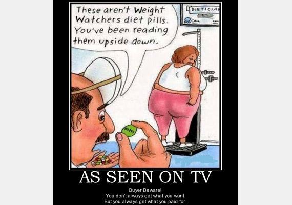 régi fogyókúrás hirdetések