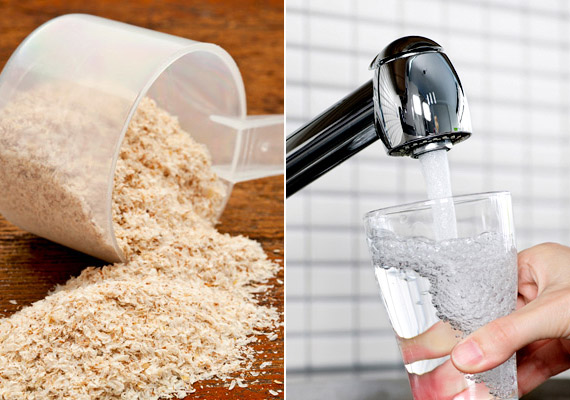 A gyógynövényboltokban kapható bolhamag útifű - Plantago afra, plantago ovata - maghéjának őrleménye jelentős mértében hozzájárul az emésztési folyamatok gyorsításához. Keverj el egy evőkanálnyit két deci vízben, és fogyaszd reggel, 20 perccel étkezés előtt. Kúraszerűen is alkalmazhatod.