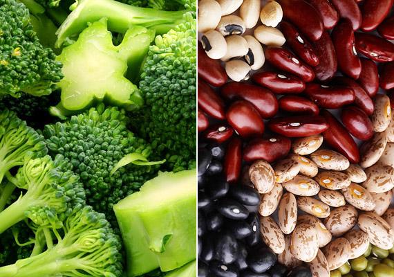 A brokkoli és a hüvelyesek fogyasztása igen magas rosttartalmuk miatt nem javasolt két órával futás előtt. Emésztésük során ugyanis gyakori a gázképződés, mely nehezíti az edzést.