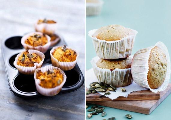 A sütőtök kedvelt, ám nem éppen karcsúsító őszi csemege. A belőle készült muffin remekül átmelegíti a testet-lelket, de tartsd észben, hogy egyetlen darab sütőtökös, fehér liszttel készült muffin nagyjából 200 kalória, és több mint 20 gramm szénhidrát bújik meg benne.