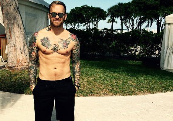 Ha nemcsak a kockahas, hanem a tetoválás is bejön, Bob Harper lesz a te embered.