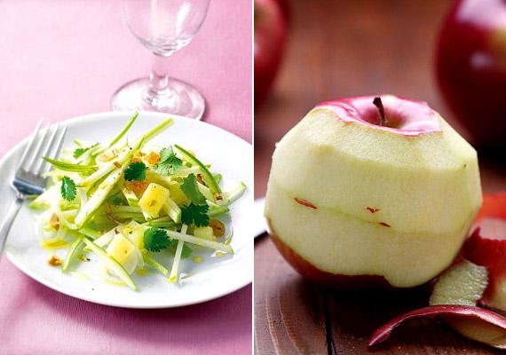 Ha könnyű, pikáns salátára vágysz, próbáld ki az almás zellersalátát. Egy adag belőle körülbelül 250 kalória. Próbáld ki ezt a receptet!