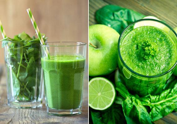 A zöld színű zöldségek segítenek helyreállítani a cukor, illetve a feldolgozott élelmiszerek túlzott fogyasztása következtében megborult sav-bázis egyensúlyt, aminek eredményeképpen elhízás, illetve számos egészségügyi probléma is kialakulhat. Kattints, és próbálj ki egy karcsúsító zöld turmixot!