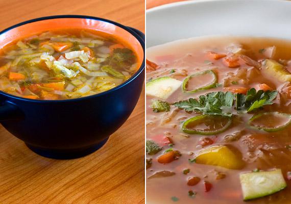 Ha fogyókúrás levesekről van szó, nem maradhat ki a sorból a káposztaleves. A káposzta negatív kalóriás étel, vagyis emésztése során több kalóriát égethetsz el, mint amennyit beviszel vele szervezetedbe. Próbáld ki a káposztalevesre épülő diétát!