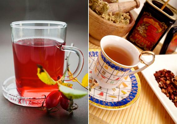 Kipróbálhatsz egy speciális teakeveréket is, amely Maria Treben receptje alapján készül, és többet között csipkebogyót, cickafarkat, mályvalevelet tartalmaz. Kattints korábbi cikkünkre a receptért!