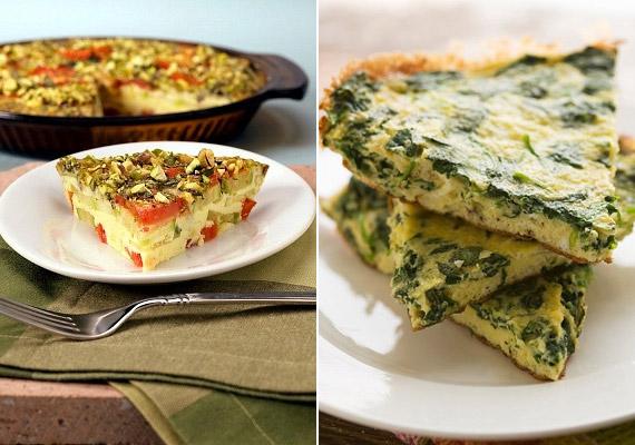 A frittata nagyjából ugyanaz, mint az omlett, de lényeges különbség, hogy lassabb tűzön kell készíteni, és nem egyben, hanem szeletelve tálaljuk. Bármilyen zöldségből elkészítheted: íme, egy spenótos verzió!