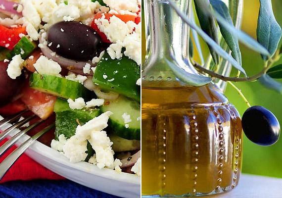 A mediterrán diéta abból indul ki, hogy a Földközi-tenger környékén élő népek hosszabb ideig élnek. Ennek okát az étrendre vezették vissza, amely előnyben részesíti a gyümölcs, a zöldség, az olívaolaj és a hal fogyasztását. A diétáról korábbi cikkünkben bővebben olvashatsz.