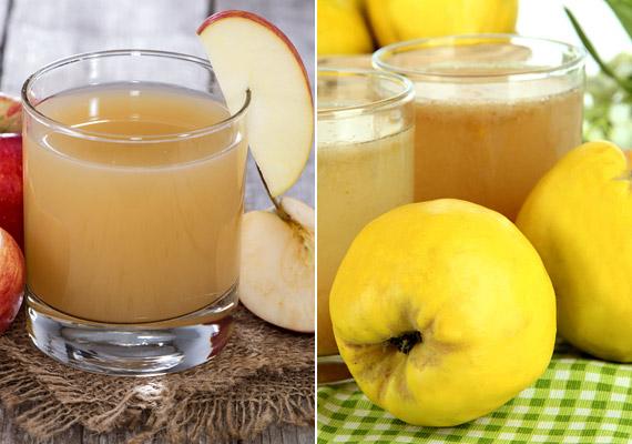 Az almában és a birsalmában lévő pektin segít kiegyensúlyozni az emésztést, nagy előnyük továbbá a magas C-vitamin-tartalom, mely segíti a zsírégető folyamatokat. Ismerd meg a birsalma fogyasztó hatását!