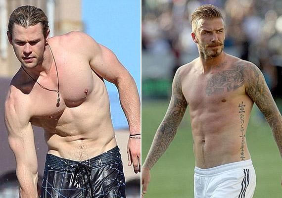 Chris Hemsworth vagy David Beckham félmeztelen fotója tökéletes motiváció lehet a fogyókúrához. Sármos mosolyukkal és kockás hasukkal biztatnak majd: menni fog, kislány!