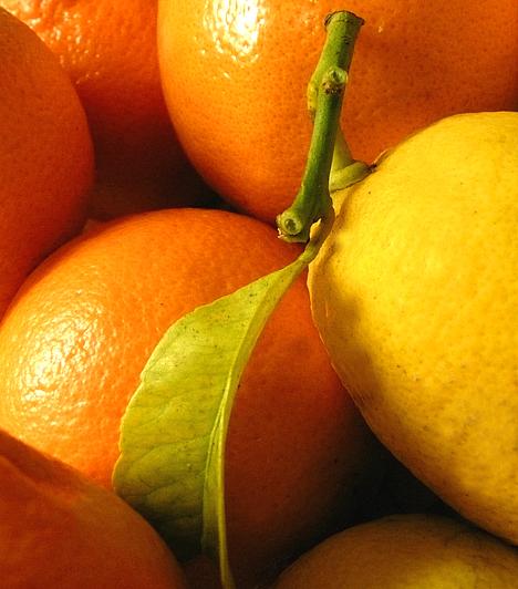 CitrusfélékA C-vitaminban bővelkedő citrusfélék a legismertebb negatív kalóriás ételek. Zsírégető hatásukat a bennük rejlő flavonoidok tovább fokozzák, fogyasztásuk emellett elősegíti a zsírégetéshez elengedhetetlen thyroxin hormon termelődését.Kapcsolódó cikk:4 nap, 2 kiló - Zsírfaló citrusdiéta »