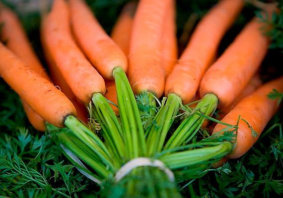 A sárgarépa béta-karotinban gazdag növény, így gyorsítja az anyagcserét, és csökkenti a vér koleszterinszintjét. Káliumtartalmának köszönhetően megszabadít a hason lerakódott feleslegtől.