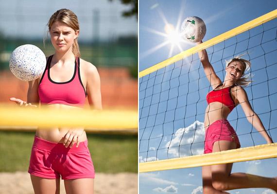 A strandröplabda igazi nyári sportág, mellyel több kalóriát égethetsz el, mint azzal, ha teremben végeznéd. Mivel a napon végzett mozgás közben jól leizzadsz, fél óra mozgás szervezetednek 200 kcal energiájába kerülhet.