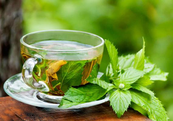 A borsmentában található mentol serkenti az anyagcserét és a vérkeringést, így javítva az emésztési folyamatokat. Így főzz belőle teát!