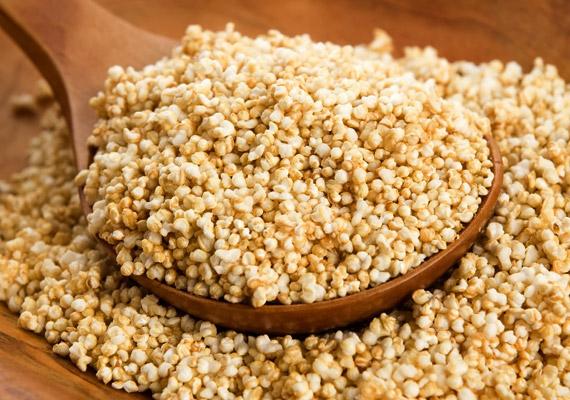 Az apró szemű amaránt anyagcserét támogató B-vitaminjaival, emésztéssegítő, salaktalanító rostanyagaival hozzájárul a fogyókúra sikeréhez. A zabpehelyhez és a hajdinához hasonlóan érdemes használnod: váltsd ki vele a panírozáshoz használt zsemlemorzsa egyharmadát. Amellett, hogy magas a rosttartalma, kiváló vas-, magnézium-, kalcium- és cinkforrás, glikémiás indexe alacsony, így eltelít, és kiegyensúlyozottá teszi a vércukorszintedet. Tudj meg többet róla!