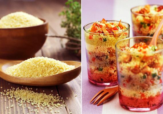 A berber eredetű araboktól átvett, változatosan fűszerezhető, rostban gazdag kuszkusz kiváló alapanyag zöldséges ételekhez, de saláta mellé vagy akár édességhez is. Ismerj meg egy jó receptet!