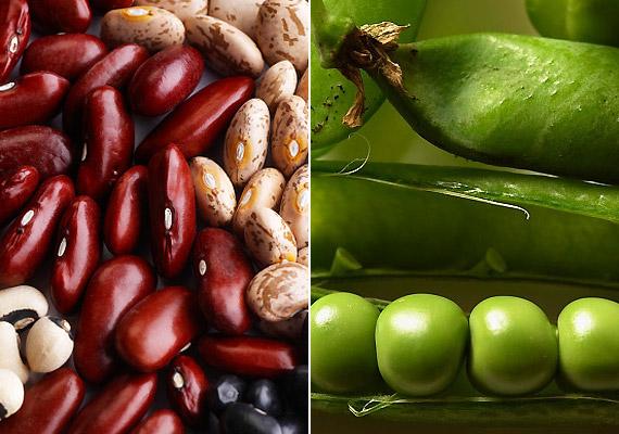 A hüvelyesek számítanak az egyik legbiztosabb rostforrásnak. 100 gramm zöldborsóban több mint 7 gramm rost van, de a lencse és a bab is hasonló értékekkel büszkélkedhet. Érdemes főzelék vagy saláta formájában fogyasztanod őket ebédre vagy vacsorára. Tudj meg többet a hüvelyes zöldségek fogyasztó hatásáról!