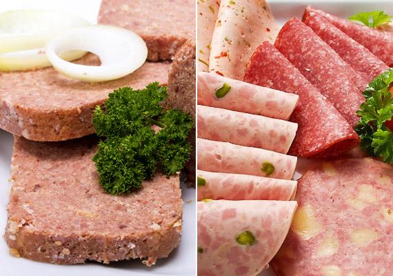 A feldolgozott húsokat, konzerveket, felvágottakat magas zsír- és mesterségesanyag-tartalmuk miatt a szervezet csak lassan tudja megemészteni. Ha a tápanyagok nehezen bomlanak le, könnyen elhízhatsz.