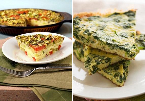 A tojás tökéletes alapanyag egy energiát adó reggelihez. Ha unod már a klasszikus hazai rántottákat, próbálj ki egy zöldséges olasz receptet. 100 g spenót, illetve paradicsom szénhidráttartalma 4 gramm. Íme, a spenótos frittata!