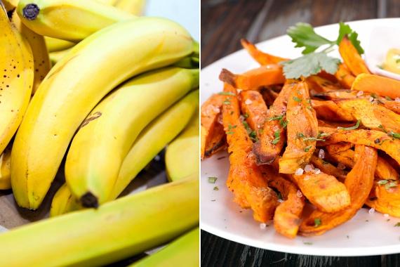 Prebiotikumnak nevezzük az olyan tápanyagokat, amelyek táplálékot biztosítanak a bélrendszeredben élő, jótékony baktériumok számára. Prebiotikum lehet például a banánban és az édesburgonyában található sok-sok élelmi rost, így érdemes legalább az egyikből naponta minimum egy adagot, azaz 150 grammot enni.