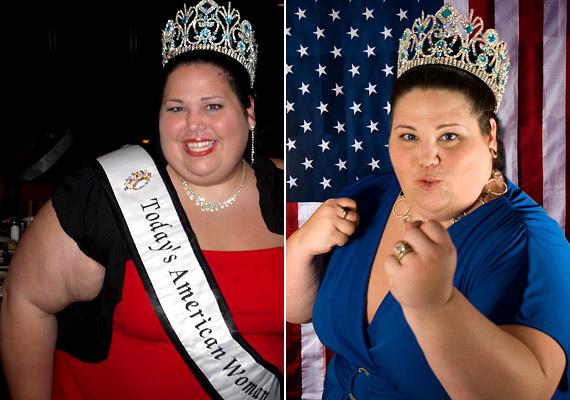 Chassie Virginia Dietz jócskán száz kiló fölött volt, amikor 2008-ban megkoronázták mint az Egyesült Államok leggyönyörűbb dús idomú hölgyét. Azóta karrierje felfelé ível, többek között a Miss Plus Teen USA verseny egyik főszervezője.