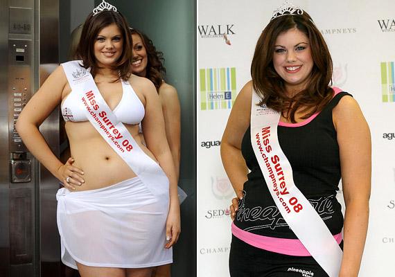 Chloe Marshall 2008 márciusában nyerte el a Miss Surrey címet. Ekkor a 17 éves lány 178 centis magasságához 80 kilót nyomott. Még ugyanezen év júliusában elérte azt, ami korábban elképzelhetetlennek tűnt: második lett a Miss Anglia szépségversenyen.