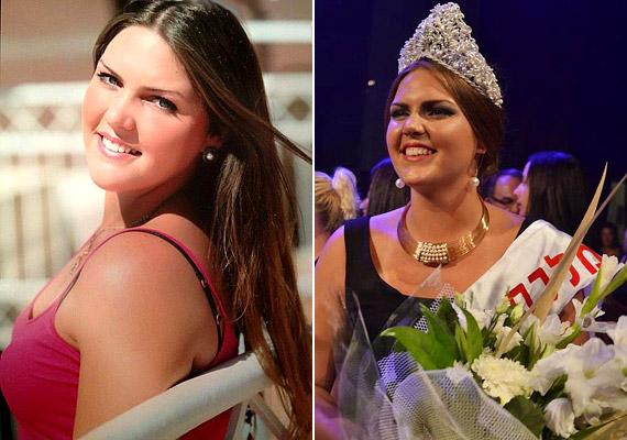 Vered Fisher súlyaszáz kilogramm fölött volt, amikor 2012 nyarán Izraelben molett szépségkirálynővé koronázták. Ám a 22 éves, csinos lány fotóit látva ez nem tűnik olyan soknak.