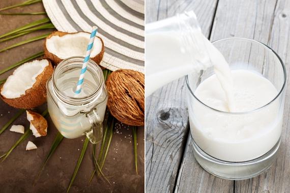 Sokak számára megdöbbentő, de a tej is a cukornak köszönheti édes ízének egy részét. Fél liter tehéntej gyakran 12 gramm cukrot tartalmaz, míg a szója-, mandula- és kókusztejek körülbelül 7 grammot, így ha ezt szeretnéd kiiktatni, érdemes kipróbálni otthoni elkészítésüket. Meglepő módon ezeknél a kókuszvíz sem jobb: 23 gramm cukor van benne, ugyanilyen mennyiségben.