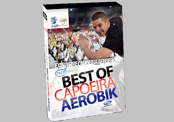 Czanik Balázs Best of Capoeira Aerobik című DVD-je az eddigi capoeira aerobik-DVD-k legjobb részeit tartalmazza, és az egészet megfűszerezték a legújabb irányzattal, a fire capoeira aerobikkal.