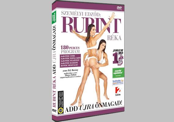 Rubint Réka tizedik jubileumi DVD-je 40 perces blokkokat tartalmaz: 2x20 perc comb, 2x20 perc has, 2x20 perc felsőtest, 2x20 perc popsi-csípő. Különlegessége, hogy egy rövid meditációs részt is van a végén - Mága Zoltán zenéjével.