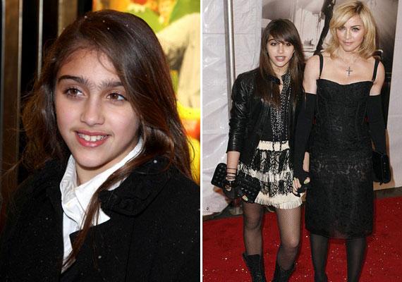 Lourdes ruháival önmagában nem lenne gond - ha azokat nem egy 12-13 éves kislány viselné, Madonna gyermeke ugyanis ennyi idős a képeken. A híres mamának inkább a szemöldökszedés hasznosságán kellett volna elgondolkodnia.
