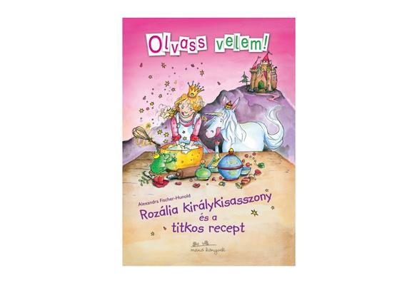 Alexandra Fischer-Hunold Rozália királykisasszony és a titkos recept című mesekönyve csakis a kis hercegnőnek szól. A könyvet itt rendelheted meg, ára 2490 forint.