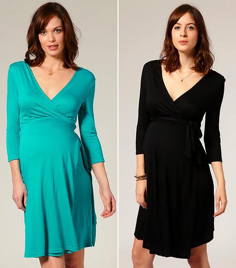 Átlapolt ruha  Ez a legpraktikusabb ruhafazon, mely egyetlen nőnek sem hiányozhat a szekrényéből. Trükkös kialakításával rendkívül nőies vonalakat varázsol, valamint diszkréten leplezi a széles csípőt, a vastag combokat és a nagy popsit úgy, hogy közben megnyújtja az egész alakot. További előnye, hogy a megkötőjével egyszerűen a méreteidre igazíthatod, így a szülés után sem szorul átalakításra.