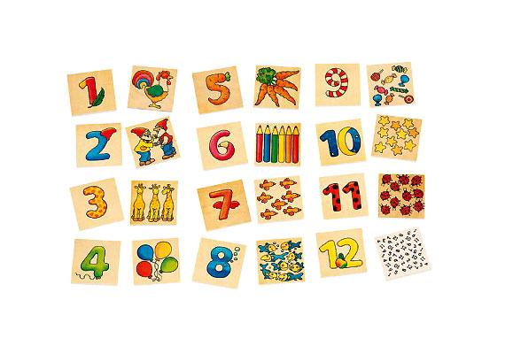A Cause Számos memóriakártyák négyéves kortól ajánlottak. A dobozban lévő 24 darab kártya segít elsajátítani a számok képét és jelentését. Ára 2210 forint, ide kattintva rendelheted meg.