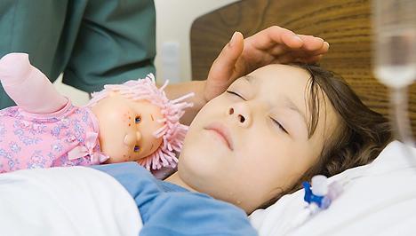 Mit tegyünk, ha influenzás lett a gyermekünk?