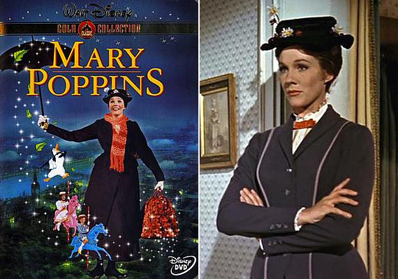 Mary Poppins varázslatos, meseszerű történte a kisebbeket is a tévéképernyőhöz szegezheti. Rajzfilm verziói is vannak, de érdemes megnézni az 1964-ben készült amerikai filmet, mely ma is élvezhető képsorokat tartalmaz. Mary Poppins keleti széllel érkezik két kisgyerek segítségére, akiket szüleik elhanyagolnak. A titokzatos nevelőnő szerepében lenyűgözi a magányos gyerekeket, táskájában pedig mindig lapul valami vidító varázslat.