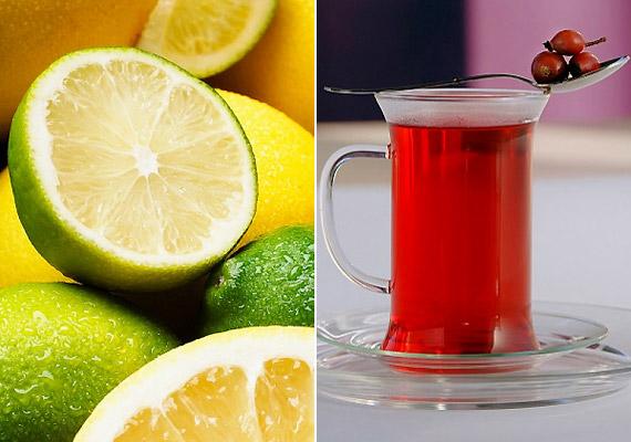 A C-vitamin eredményesen gyógyítja a gyengült vénákat, megerősíti az érfalat, valamint csökkenti a gyulladás kialakulásának kockázatát. Fogyassz olyan C-vitaminban gazdag táplálékokat, mint a citrusfélék vagy a csipkebogyótea.
