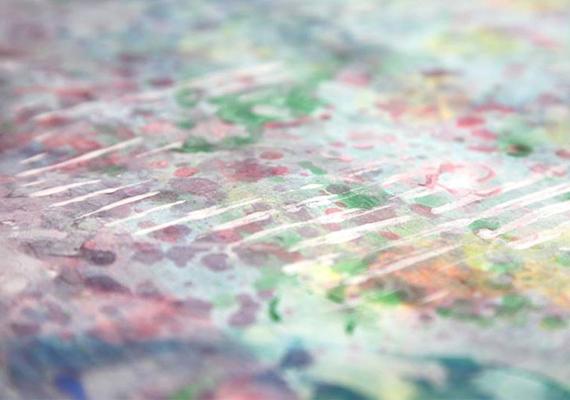 Színei, változatosan és művészi tehetséggel alkalmazott festési technikái más és más kompozíciókat alkotnak.