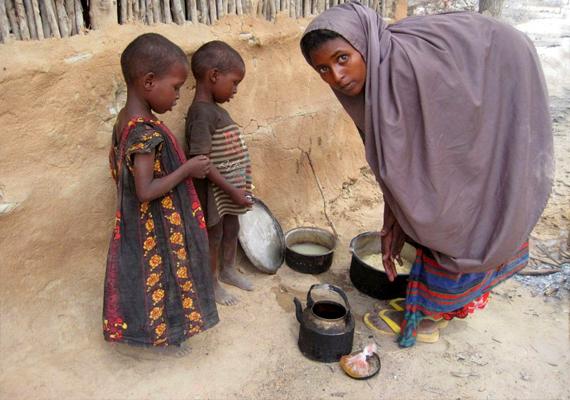 A sereghajtók következnek. Szomália a 175. a Save the Children listája szerint.