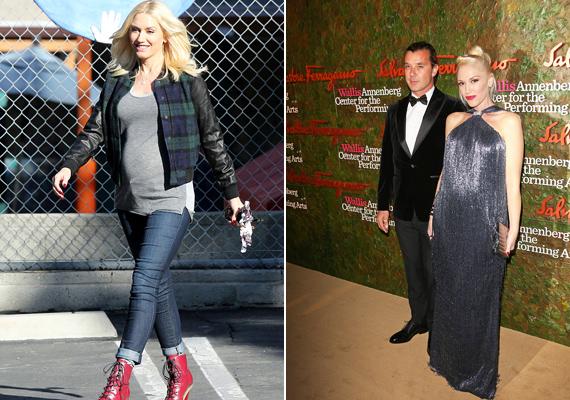 Gwen Stefaniéknál már a harmadik lurkót hozza idén a gólya. Az énekesnő a hétköznapokban is nagyon nőiesen öltözködik, de a hivatalos megjelenéseken is mindig kitesz magáért.